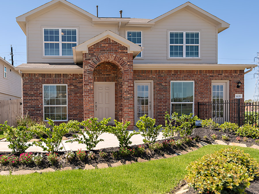 Excellent Imperial Trace 45 New Homes In Houston Tx Anglia Homes Lp Home Interior And Landscaping Synyenasavecom