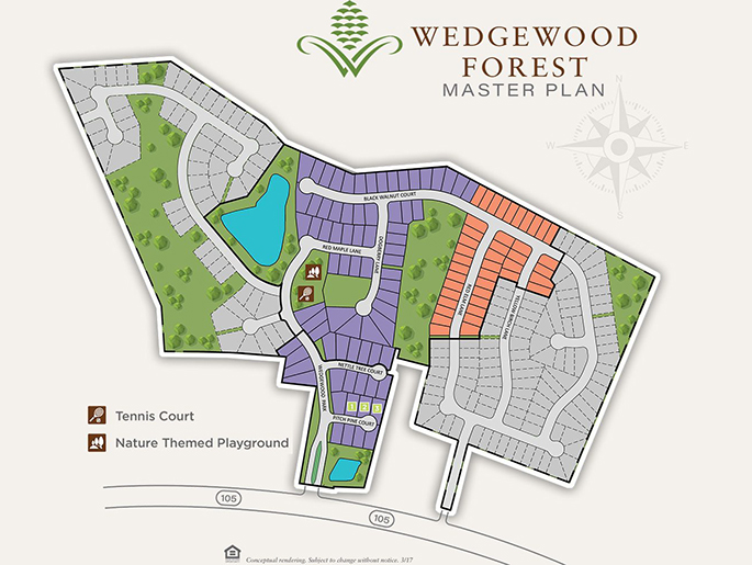 Wedgewood Forest Community Master Plan