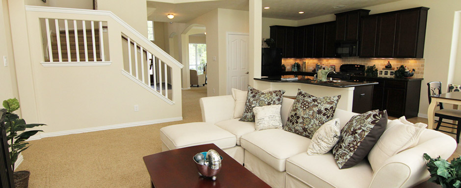 Model Home in Lakecrest Forest
