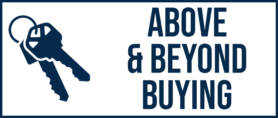 <h3><strong>Above & Beyond Buying. </strong></h3>