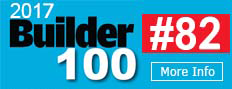 We are #74 on the Builder 100!
