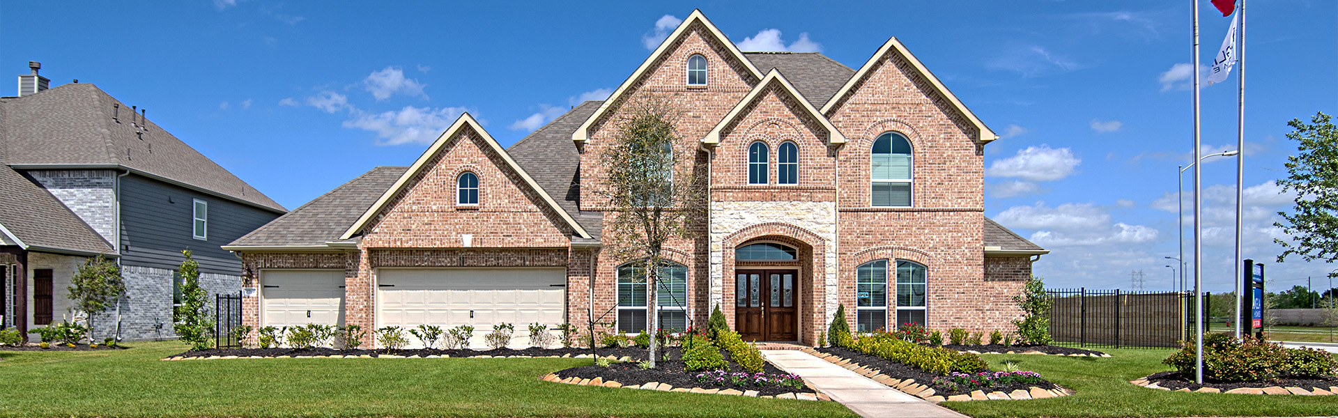 Brand new ranch-style homes in Iowa Colony TX