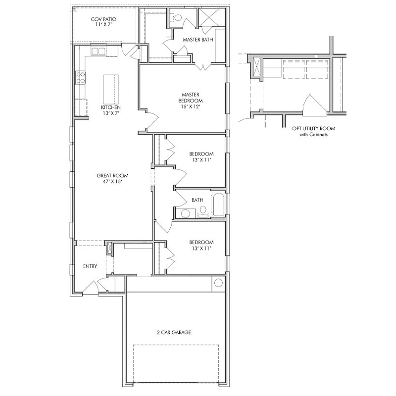 Darlington Floor Plan