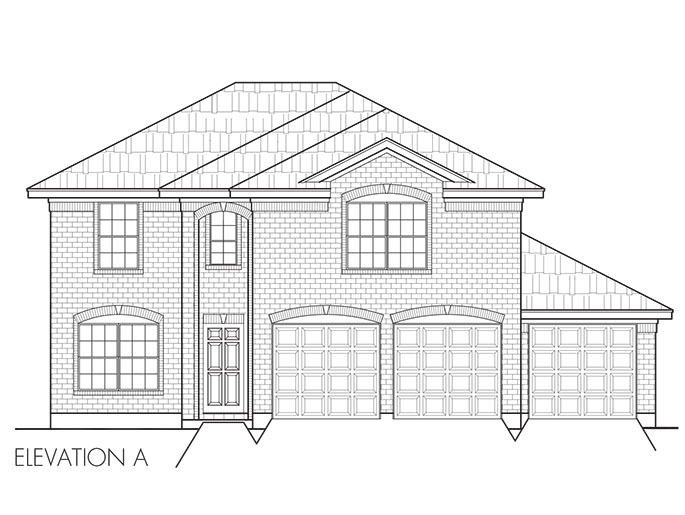 House plans the coventry at hunter 39 s ridge in baytown for Coventry plans