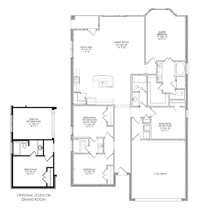 The Brighton Floor Plan