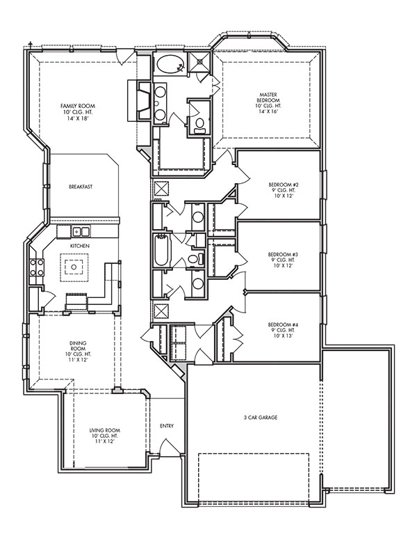 house plans the reading at heritage court in angleton islebrook new home plan reading ma pulte homes new