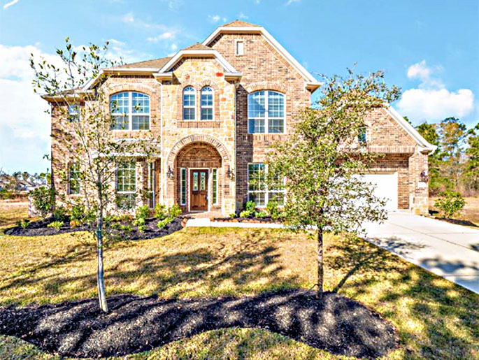 New 4 Bedroom Homes For Sale In Conroe TX