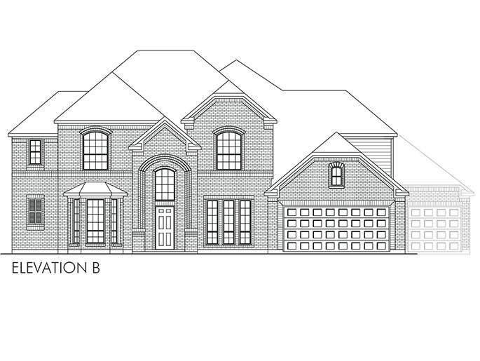 The Acton - Elevation B