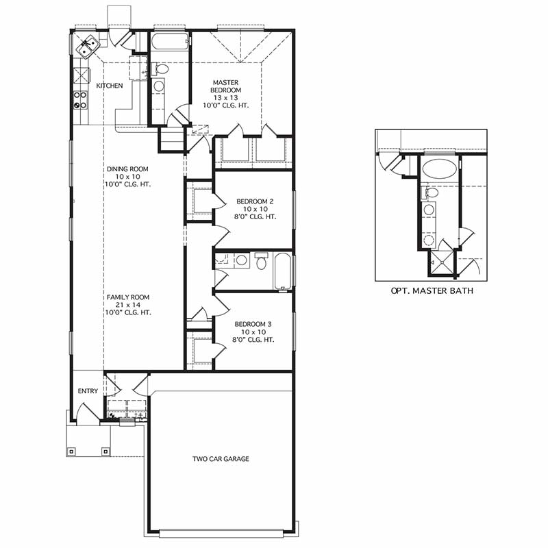 Heather Floor Plan