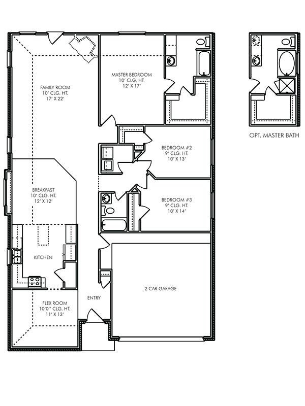 The Surrey A 3 Bedroom 2 Bath Home In Bay Colony Pointe