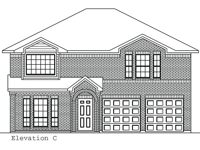 The Newmarket - Elevation C