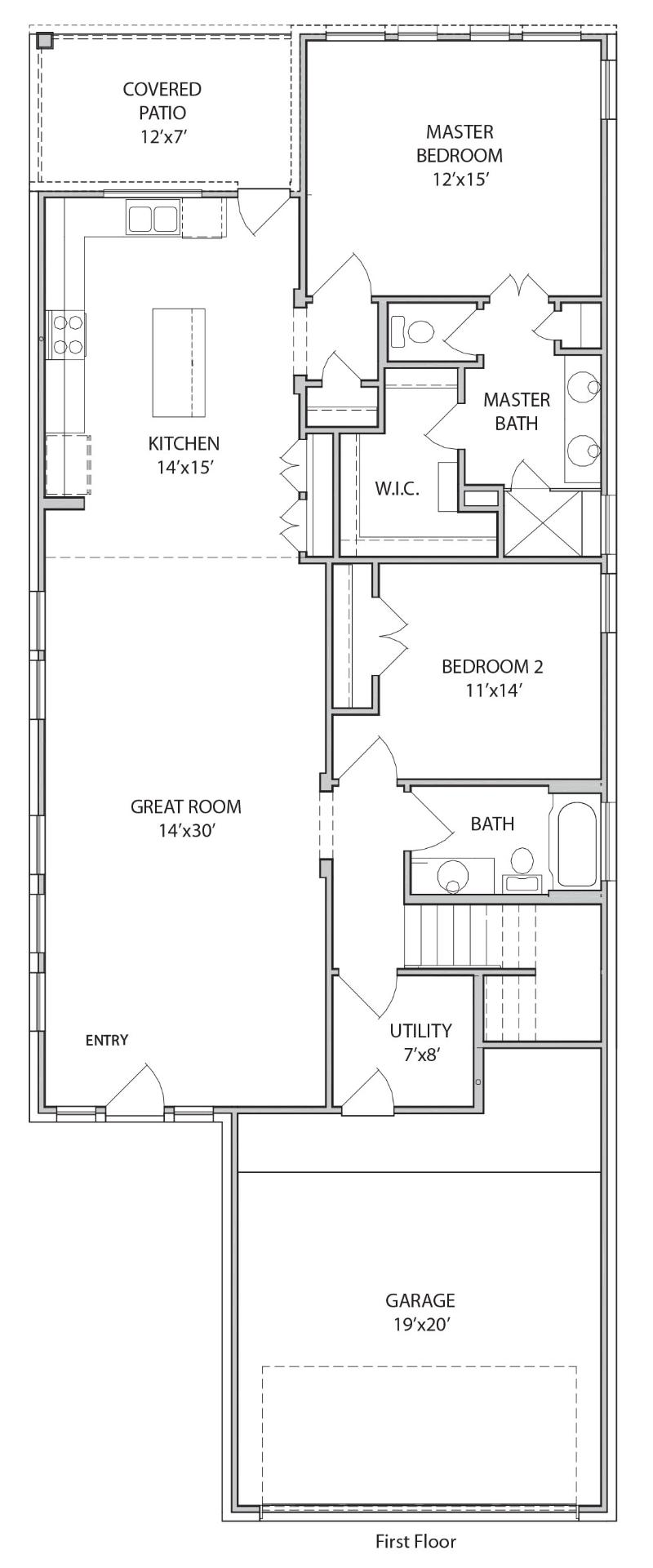 The Berkeley Floor Plan