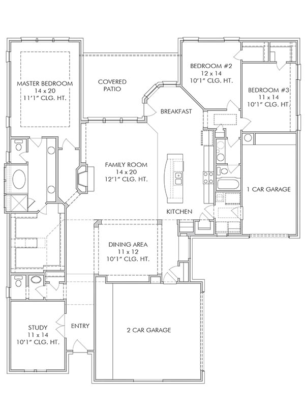 New Single Story House Plans In Mont Belvieu Tx The