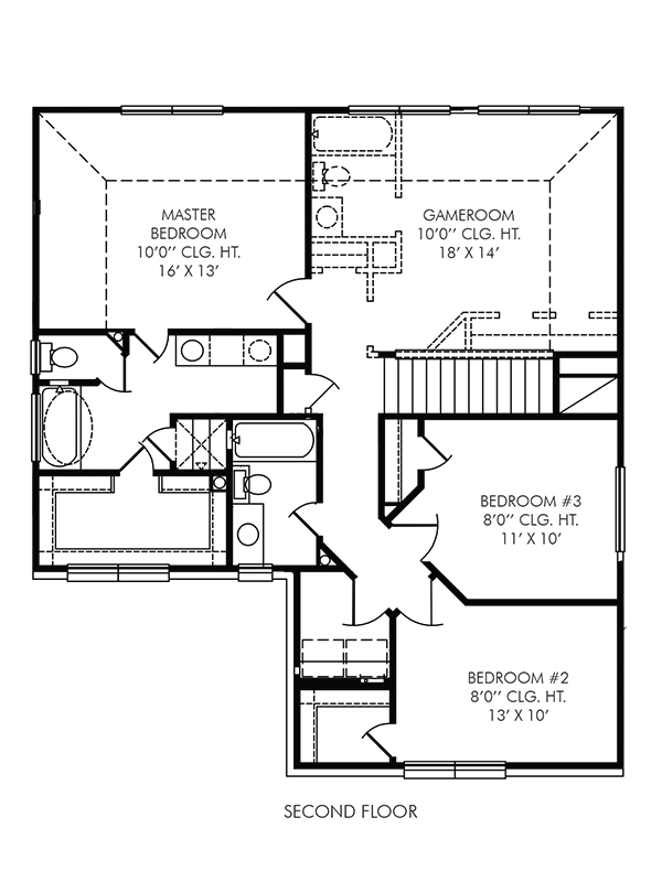 New 2 story house plans in houston tx the coventry at for Coventry homes floor plans