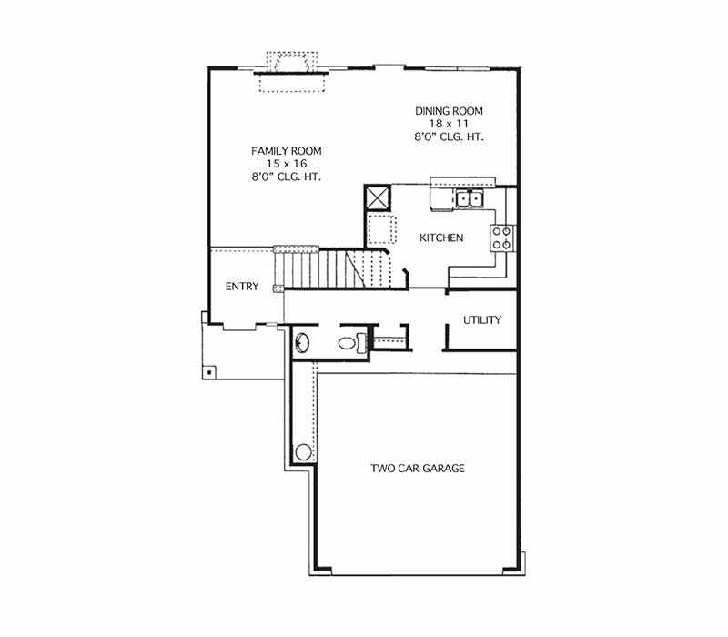 The Elgin Floor Plan - First Floor