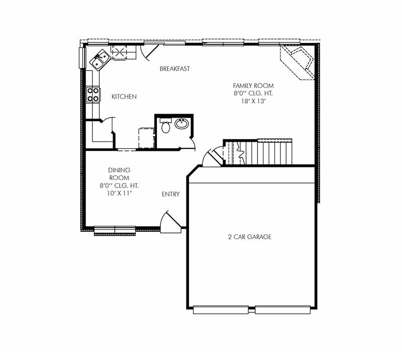 The Coventry Floor Plan - First Floor