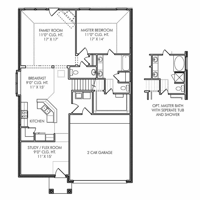 The Bedford Floor Plan