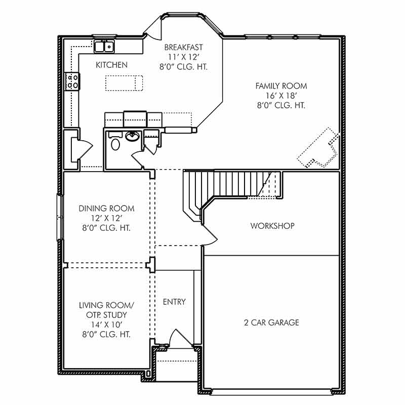 The Hereford Floor Plan
