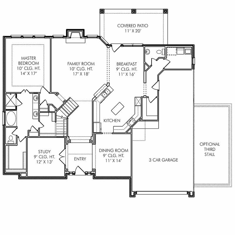 The Oxford Floor Plan