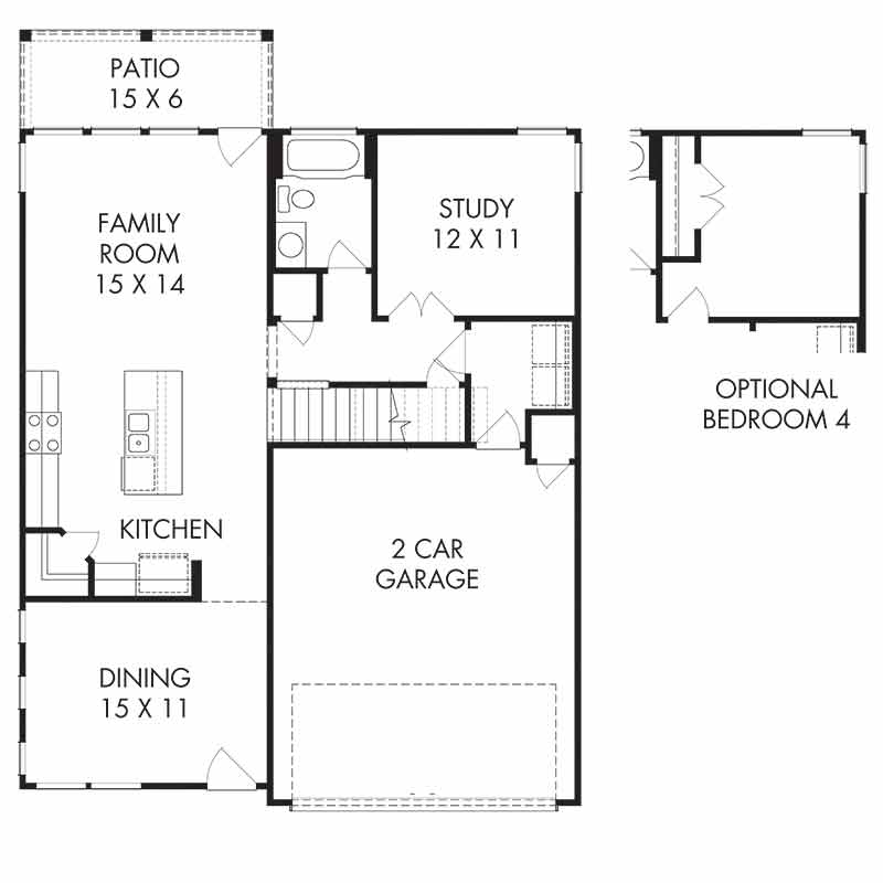 The Bradford Floor Plan