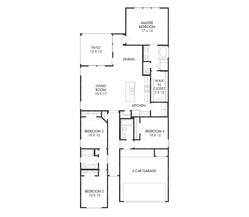 The Preston Floor Plan