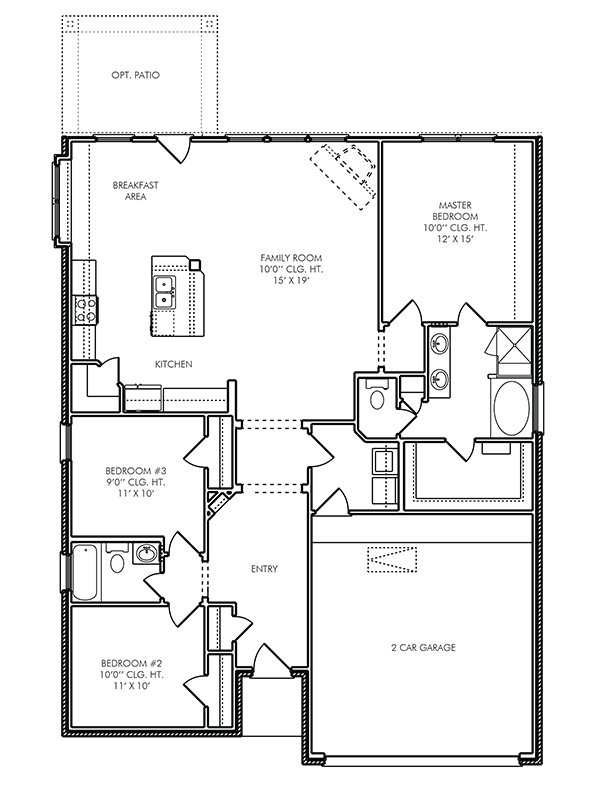 The Canterbury House Plans House Plans