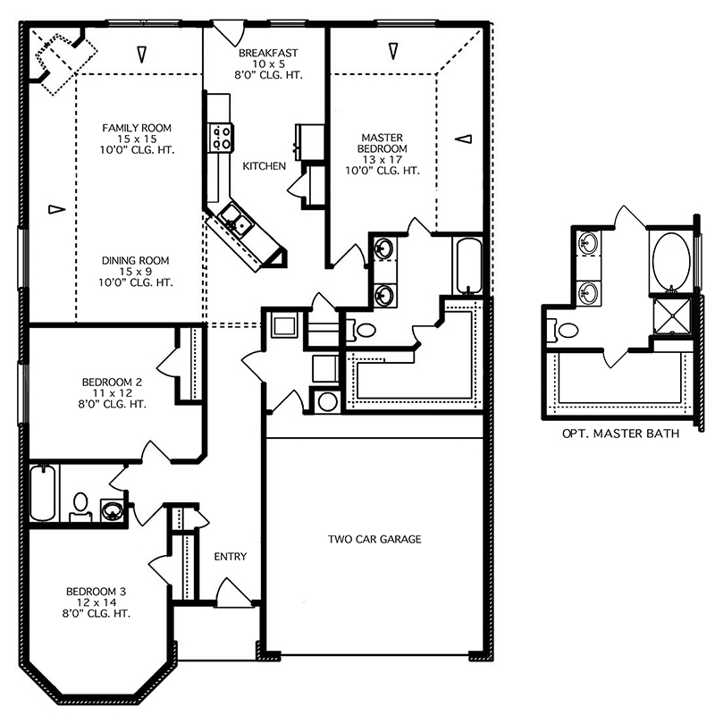 The Bath Floor Plan