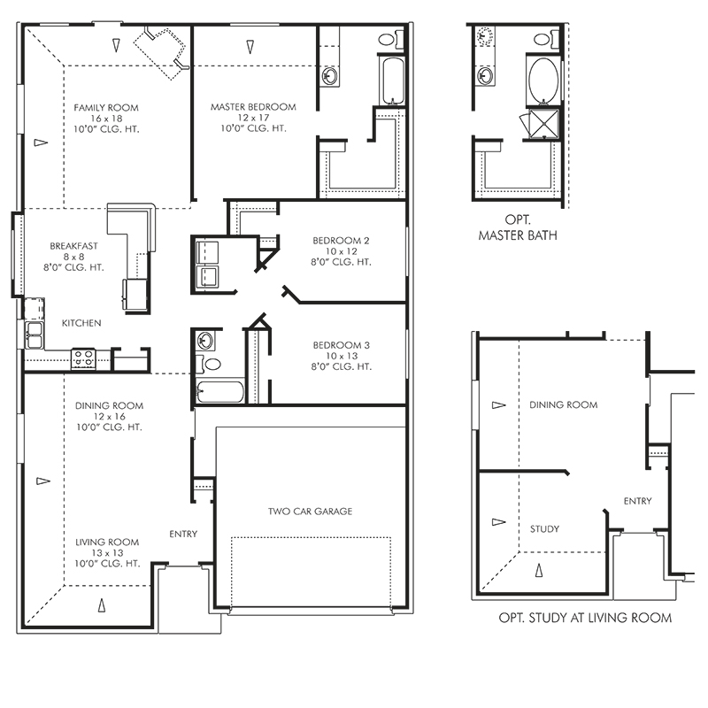 The Epsom Floor Plan