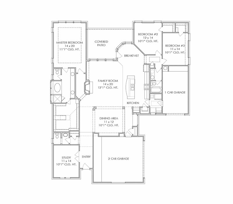 The Broadway  Floor Plan