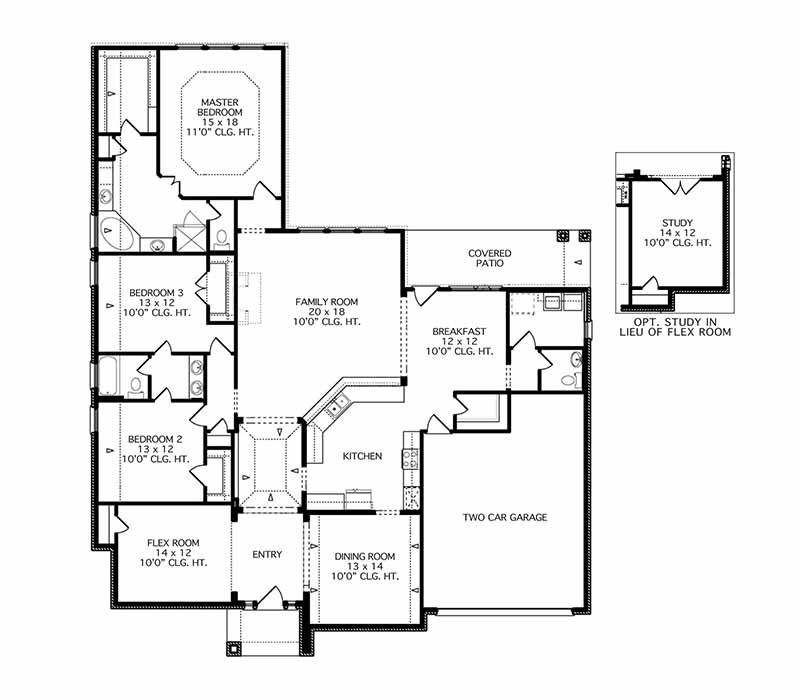 The Boxwell Floor Plan