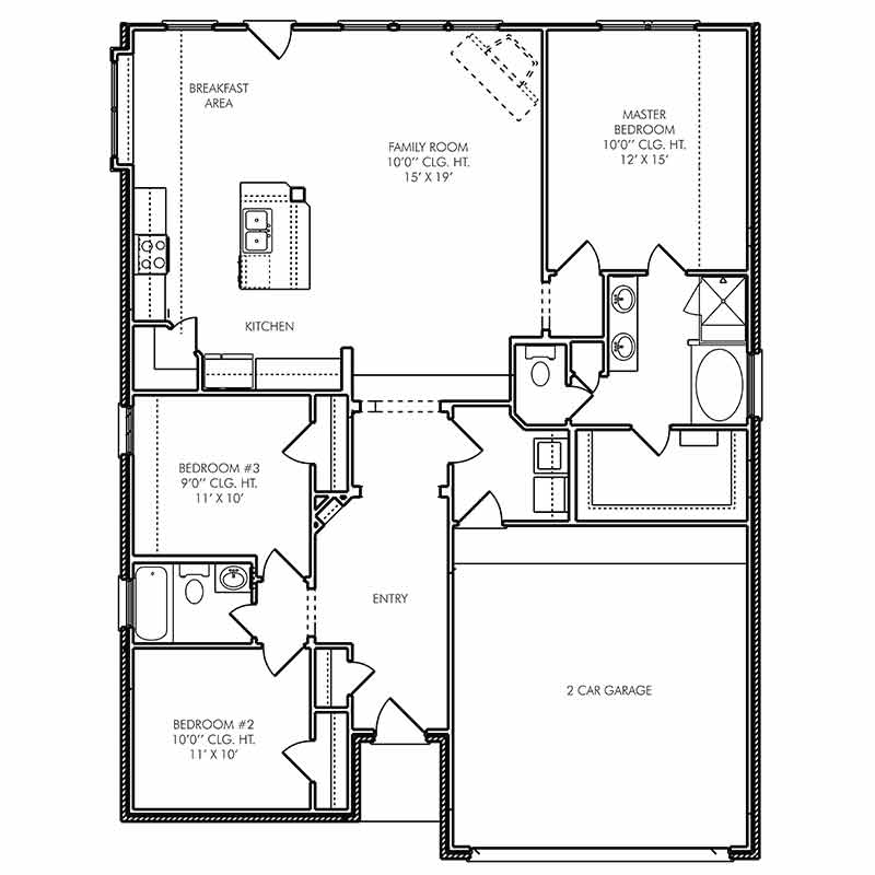 The Canterbury Floor Plan