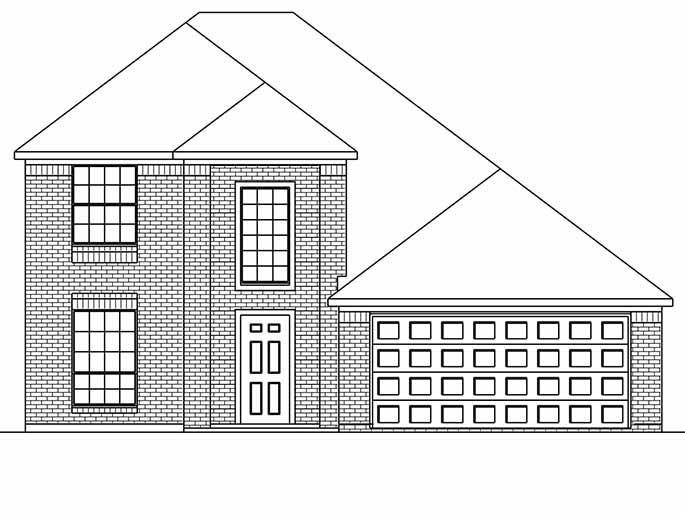 New 2-Story House Plans in Conroe TX | The Kempton at Cedar Woods ...