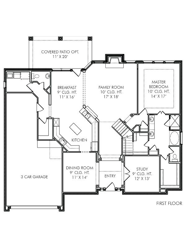 House plans the oxford at cherry creek in mont belvieu for Oxford floor plan