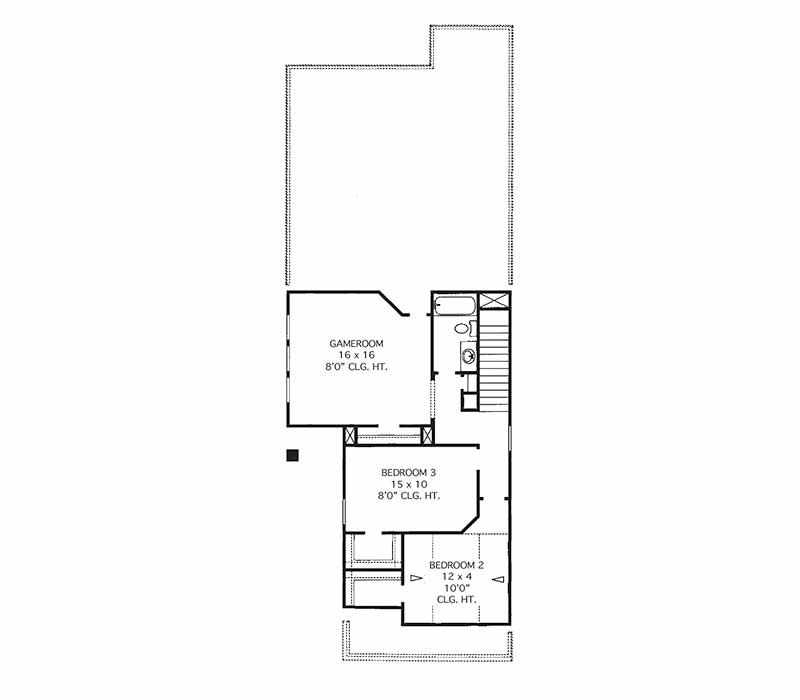 The Sterling Floor Plan - Second Floor