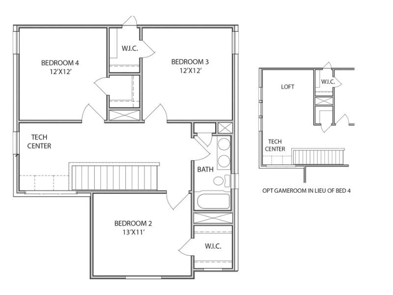 The Addington Floor Plan