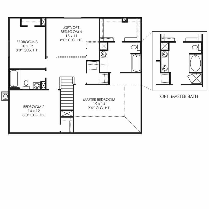 The Newmarket Floor Plan