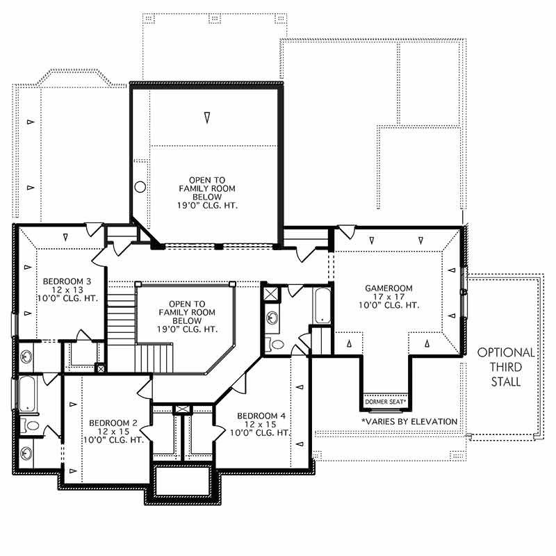 The Stonehouse Floor Plan