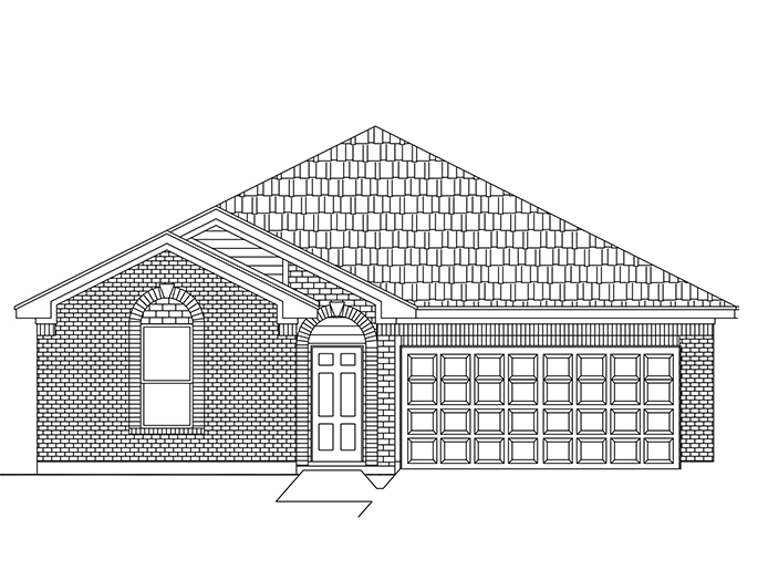 New Single-Story House Plans in Baytown TX | The York at Lynnwood ...