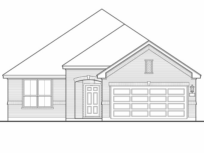 New 3 Bedroom Homes for Sale in Conroe TX | 643 Oak Circle Drive ...