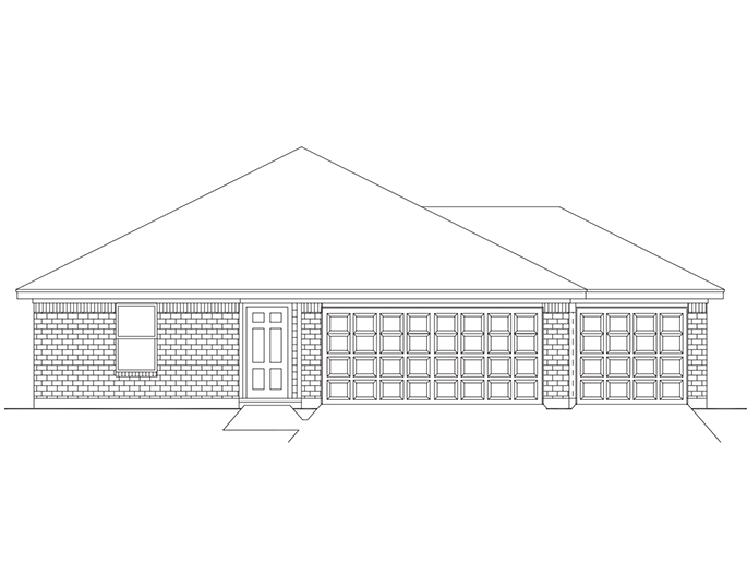 New Single-Story House Plans in New Caney TX | The York at Lilliput ...