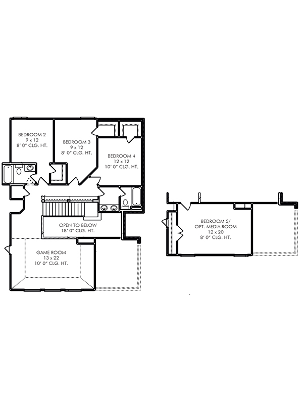 New 2 Story House Plans In Katy Tx The Morton At