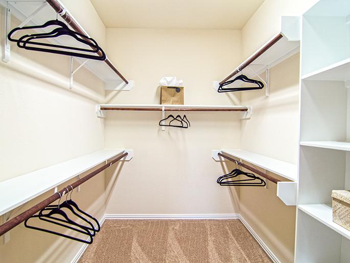 Downstairs Master Walk-In Closet (The Chester)