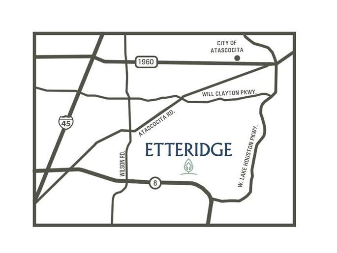 Map of Etteridge Community