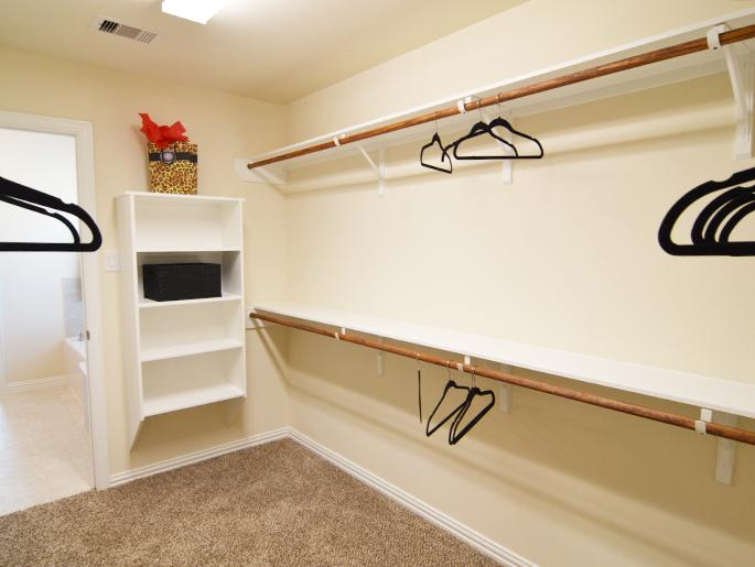 Master Walk-In Closet (The Ascot)