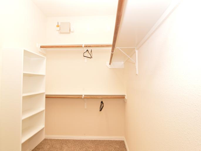 Master Closet (The Bedford)
