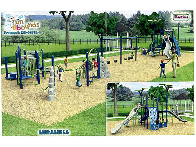 Miramesa Future Playground for Ages 2-5