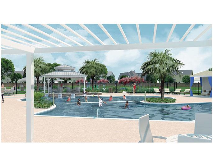 Recreational Center Pool Area