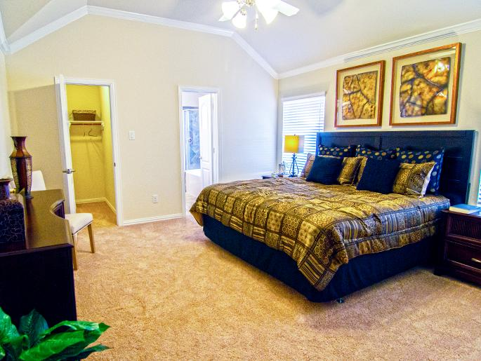 Upstairs Master Bedroom (The Chester)