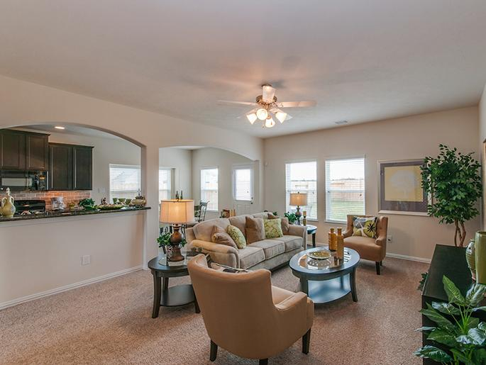 Family Room (The Kempton, Elevation B)